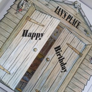 Personalised Birthday Card Husband Garden Shed DIY 30th 40th 50th 60th 70th 80th Any Person Any Age
