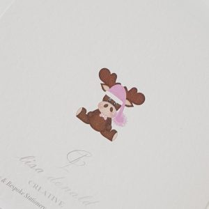 Personalised 1st Christmas Card Goddaughter Godson Any Relation Any Age