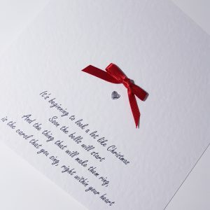 Personalised Christmas Carol Themed Christmas Cards            Available As Individual or Multi Packs Any Wording Of Your Choice Inside