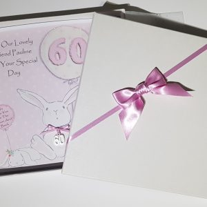 Personalised 60th Birthday Card Friend Any Person Any Age