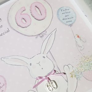 Personalised 60th Birthday Card Friend …                                                Suitable For Anyone Of Any Age