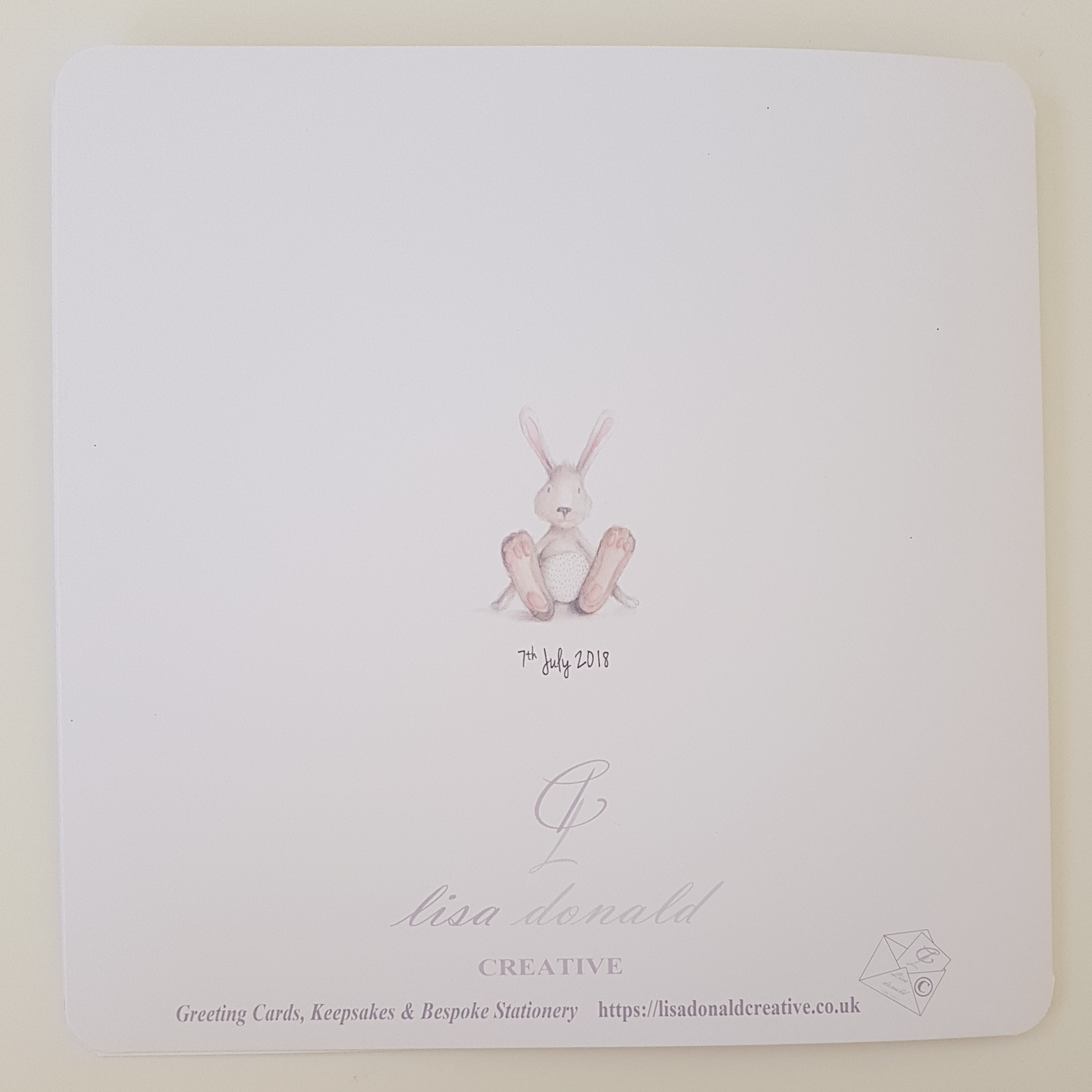 Personalised New Baby Christening Card Baby Boy Girl Twins Triplets