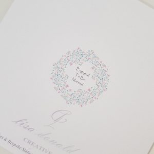 Personalised On Your Engagement Card Any Occasion Any Colour