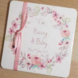 Personalised Maternity Milestone Cards / Baby Milestone Cards / Baby Shower