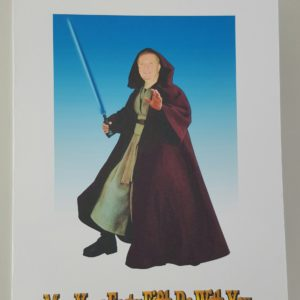 Personalised 8×6 Star Wars Birthday Card With Superimposed Picture Brother In Law Any Relation