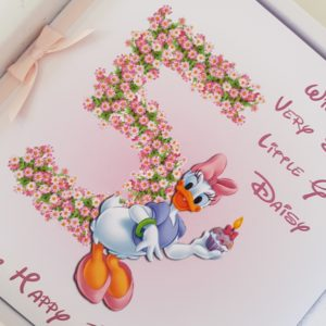 Personalised 5th Birthday Card Special Little Girl Any Relation Or Age (SKU119)