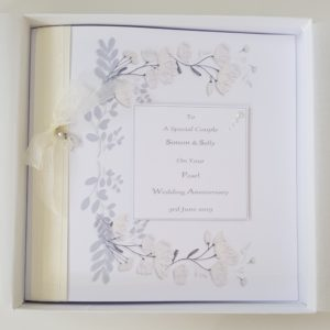 Personalised On Our 30th Pearl Wedding Anniversary Card Special Couple Any Relation Any Occasion Any Colour