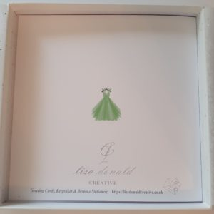 Personalised Prom Card Daughter Any Relation Any Dress Colour