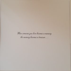 Personalised Bereavement Sympathy Card   Loss Of Mum   Any Relation Any Colour