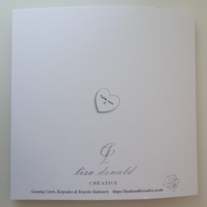 Personalised 1st Anniversary Card Husband Any Relation Any Year Any Colour