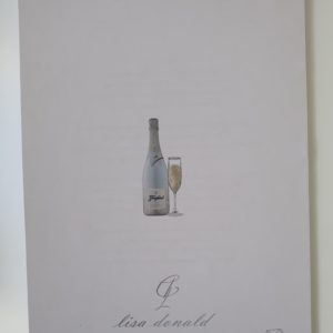 Personalised 30th Birthday Card Prosecco Themed Daughter Any Relation Any Age Any Tipple