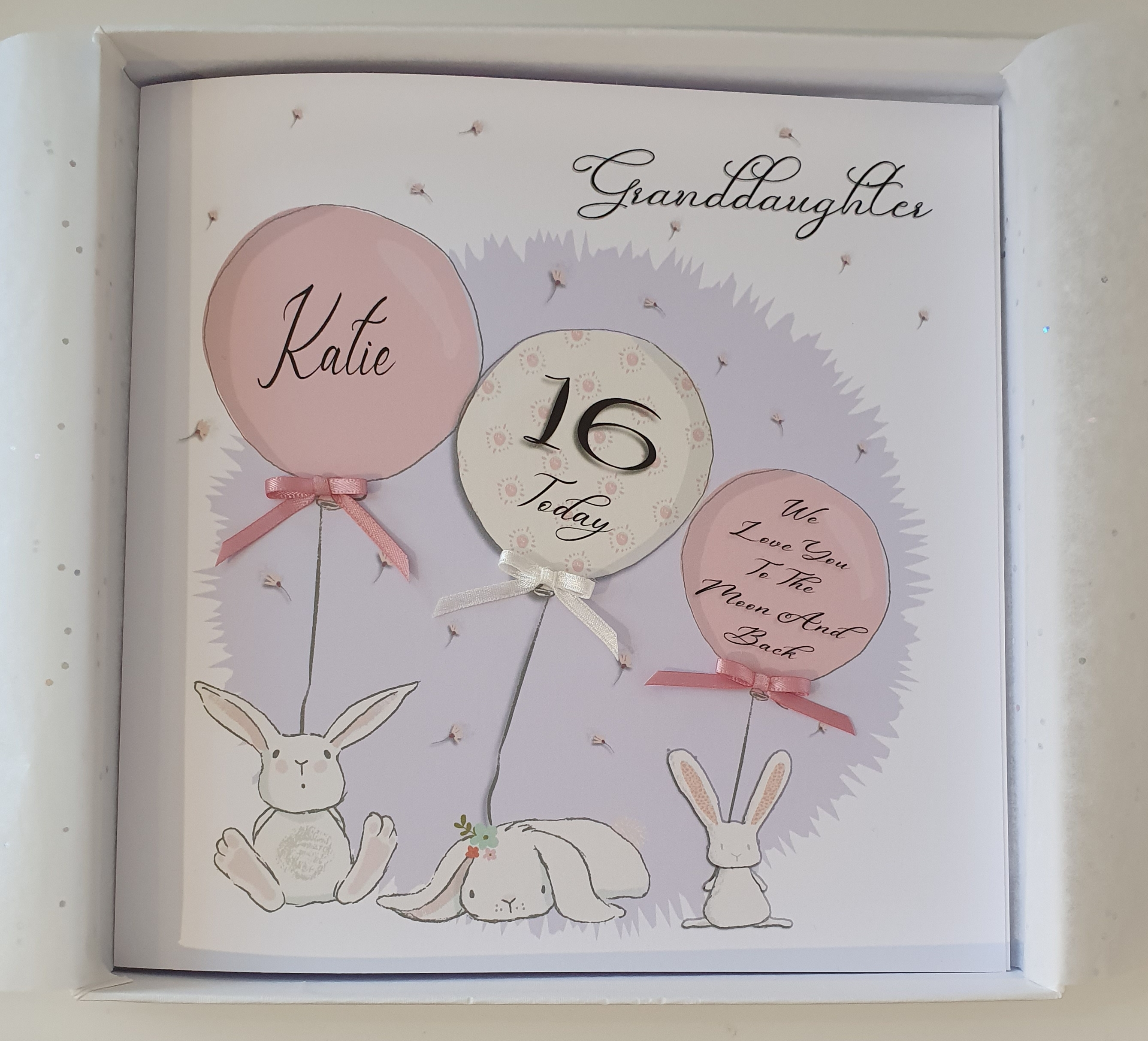 Personalised Granddaughter 30th Birthday Card Any Relation Or Colour SKU30