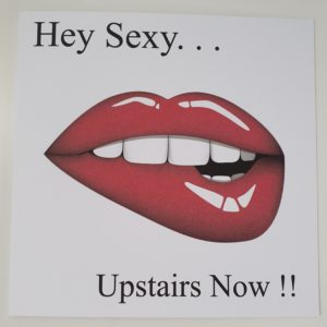 Personalised Sexy Lips Valentines Card Husband Wife Girlfriend Boyfriend Partner Fiance Fiancee Lover Naughty Fifty Shades