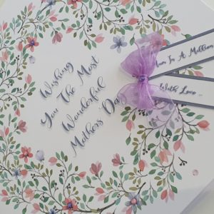 Personalised Mothers Day Card Mum Mother Mummy Mam Grandma Nan Nannie Nanna Step Mum