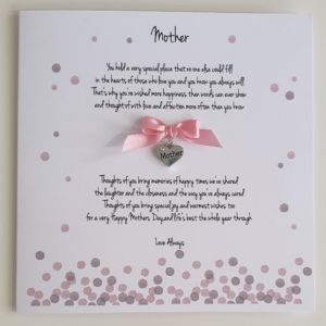 Personalised Mothers Day Card Mum Mother Mummy Mam Step Mum Nanna Grandma Nan Nannie