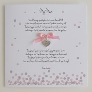 Personalised Mothers Day Card Mum Mother Mummy Mam Step Mum Grandma Nan Nannie Nanna