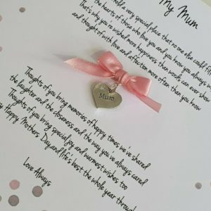 Personalised Mothers Day Card Mum (SKU58)