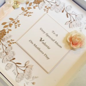 Personalised Luxury Boxed Mothers Day Card Any Colour (SKU32)