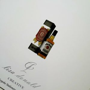 Personalised 70th Birthday Card Husband Whiskey Any Relation Any Age Any Tipple