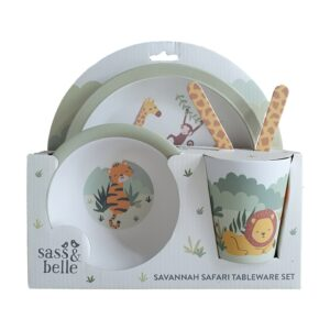 Savannah Safari Bamboo Tableware Gift Set (SKU681)