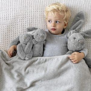 Rabbit Richie Grey Plush Toy (SKU654)