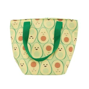 Happy Avocado Lunch Set – Tote Bag Bottle & Key Ring (SKU634)