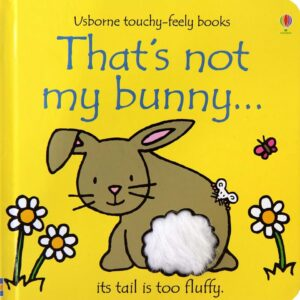 That's Not My Bunny Book With Sensory Awareness (SKU667)