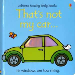 That's Not My Car Book With Sensory Awareness (SKU670)