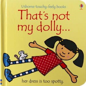 That's Not My Dolly Book With Sensory Awareness (SKU675)