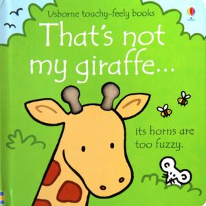 That's Not My Giraffe Book With Sensory Awareness (SKU672)