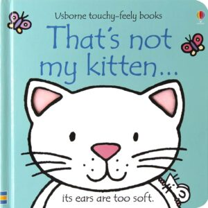That's Not My Kitten Book With Sensory Awareness (SKU669)