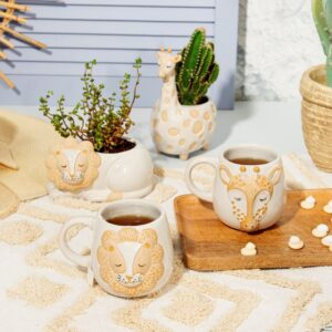 Bohemian Twist Leo Lion Safari Mug (SKU630)
