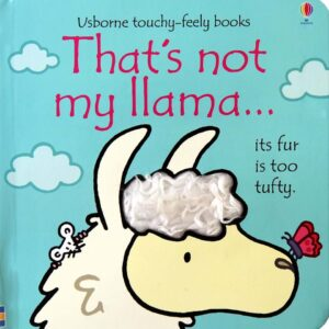 That's Not My Llama Book With Sensory Awareness (SKU676)