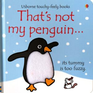 That's Not My Penguin Book With Sensory Awareness (SKU674)