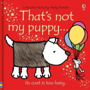 That's Not My Puppy Book With Sensory Awareness (SKU673)