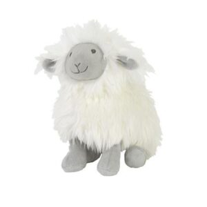 Sheep Sepp Soft Toy & Swaddle Baby Gift / Children's Gift Set & Complimentary Greeting Card (SKU605)