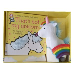 That's Not My Unicorn Book And Soft Toy Gift Set (SKU678)