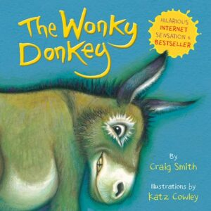 The Wonky Donkey Book Hilariously Funny Childrens Book **Internet Sensation Best Seller**  (SKU664)