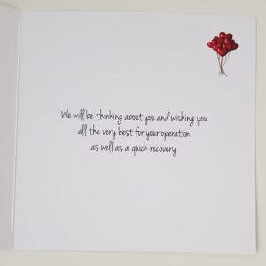 Personalised Get Well Card A Suitable For Heart Operation Uncle Any Person Or Colour (SKU413)