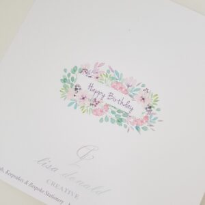 Personalised 80th Birthday Card Mum Any Person, Age Or Colour (SKU415)