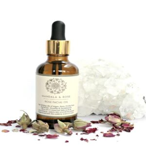 Rose Facial Oil Serum 50ml   Handmade 100% Natural   Cruelty Free   Vegan Friendly (SKU590)