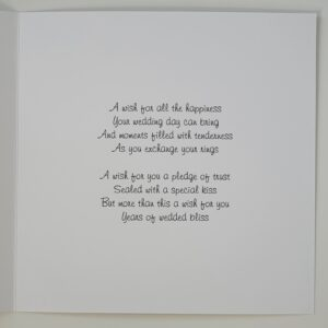 Personalised Scottish Wedding Day Card Pride Of Scotland Royal Tartan Any Occasion Or Colour (SKU433)