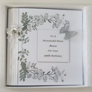 Personalised Birthday Card Mum Any Relation, Age, Occasion Or Colour (SKU449)