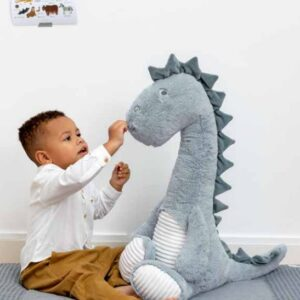 Giant Dino Don Plush Toy . . . . This Super Soft Giant Is A Must Have For Any Little One Who Simply Loves Dinosaurs (SKU553)