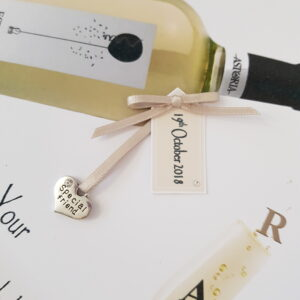 Personalised 50th Birthday Card Special Friend White Wine Any Relation, Occasion Or Colour (SKU1014)