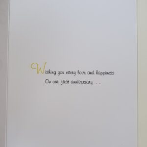 Personalised VW Camper 1st Anniversary Card Van Any Occasion, Age Or Colour (SKU1017)