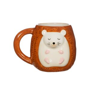 This Adorably Designed Woodland Favourites Hettie Hedgehog & Olivia Owl Mugs And Egg Cups – Available As A Set Or Individually (SKU1124)
