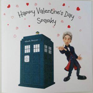 Personalised Dr Who Valentines Card Husband Wife Lover Partner Boyfriend Girlfriend (SKU1153)