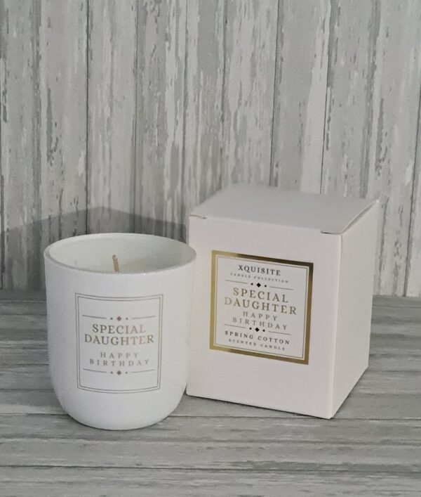 Special Daughter Candle