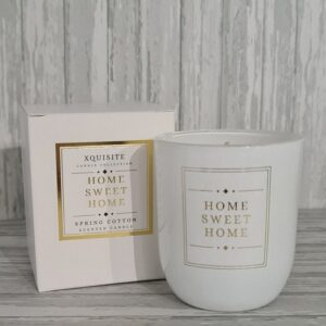 House Warming Gift Candles Home Sweet Home Candle Celebration Scented Candles Glass Holder (SKU1181)